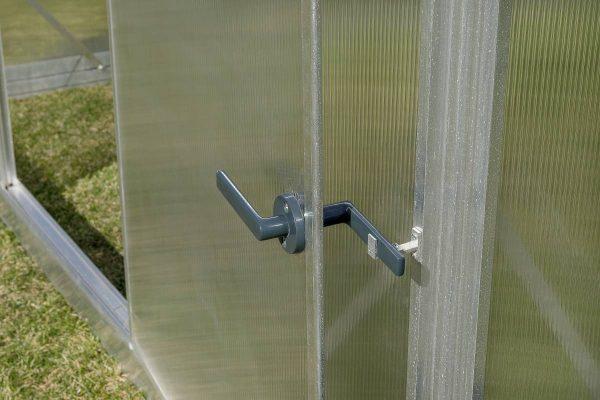 Lietuviški polikarbonatiniai šiltnamiai su dvigubomis durimis - Gampre Sanus